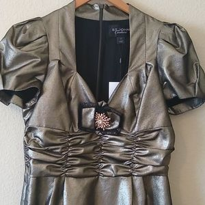 ST. JOHN/Stunning Evening Dress /Size 8/NWT